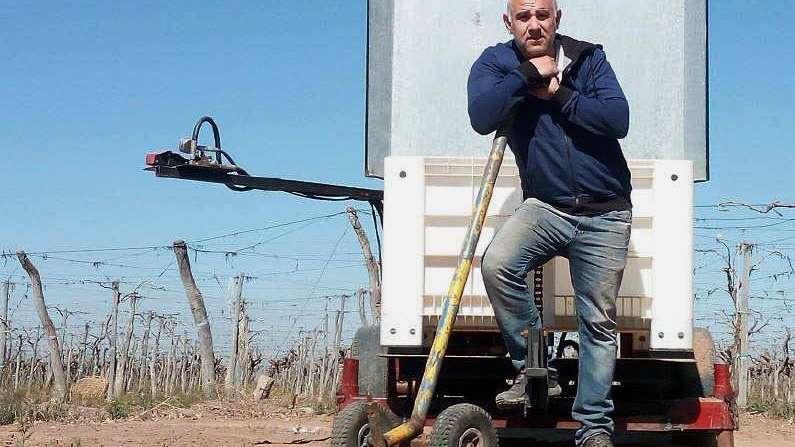 """Gabriel Angulo: """"El campo mendocino tiene un atraso tecnológico superior a 20 años"""""""