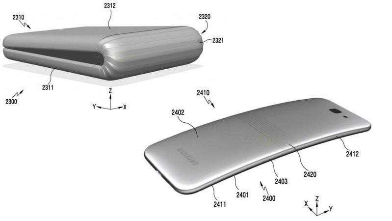 ¿Un celular que se dobla? Samsung lanzaría el Galaxy X plegable