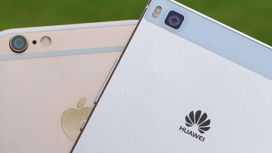 Huawei se burla del iPhone para anunciar el lanzamiento de su nuevo teléfono