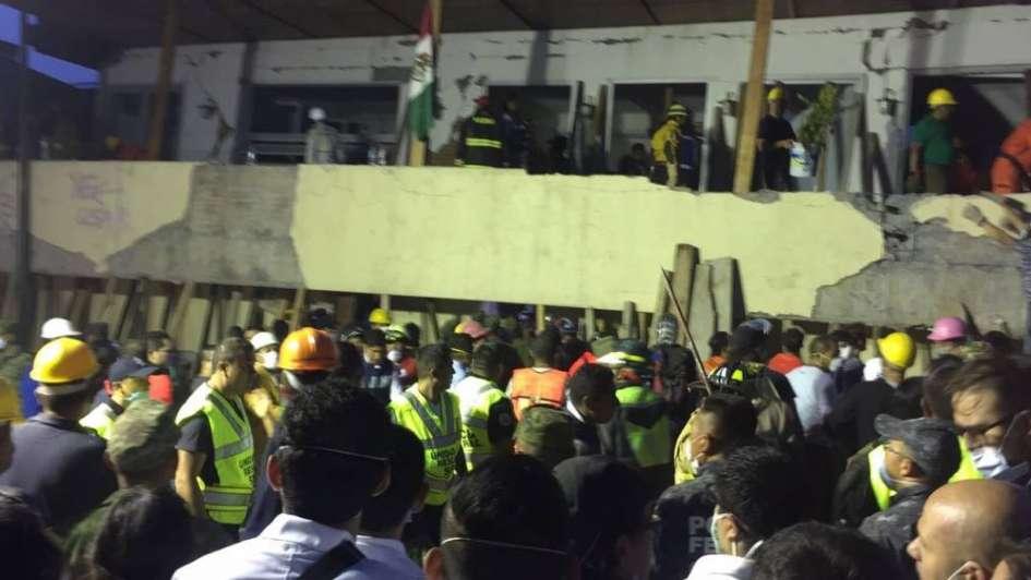 México, sismo y tragedia: murieron 32 chicos de una escuela