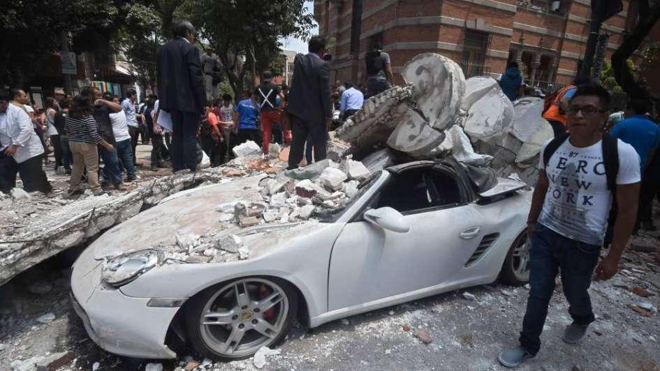 La devastación tras el terremoto en México, en impactantes fotos y videos