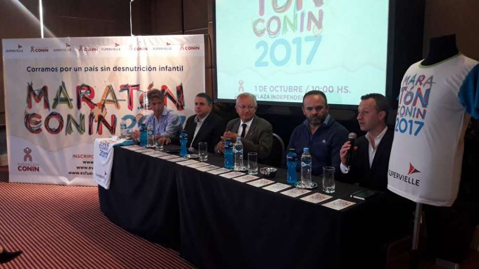 Juntos contra la desnutrición infantil: Maratón CONIN 2017