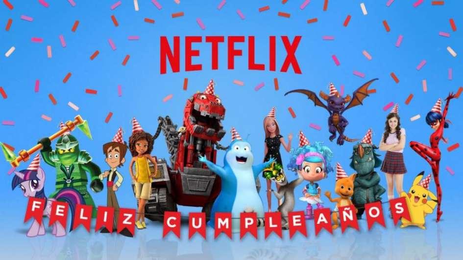 Los Personajes De Series Infantiles De Netflix Le Cantan El Feliz