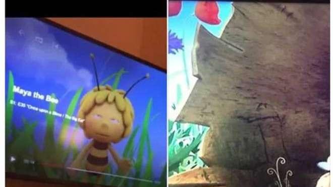 """Netflix levanta un capítulo de """"La abeja maya"""" porque aparece un pene gigante"""
