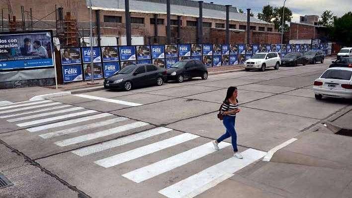 San Rafael: ahora, avenida Colón es toda de doble mano