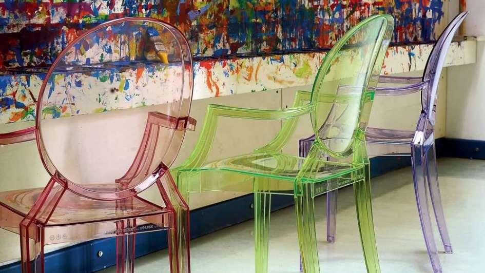 La silla Ghost, un neoclásico posmoderno