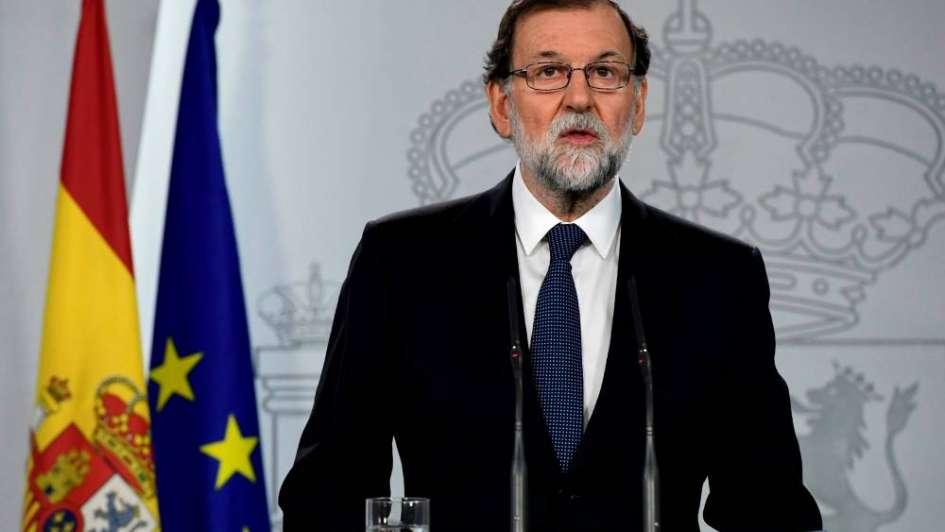 Rajoy da 5 días al líder catalán para anular la independencia