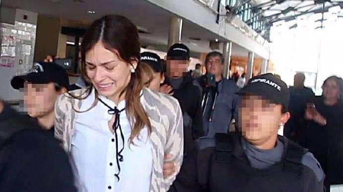 """Julieta Silva se defendió en prisión: """"No lo vi"""""""