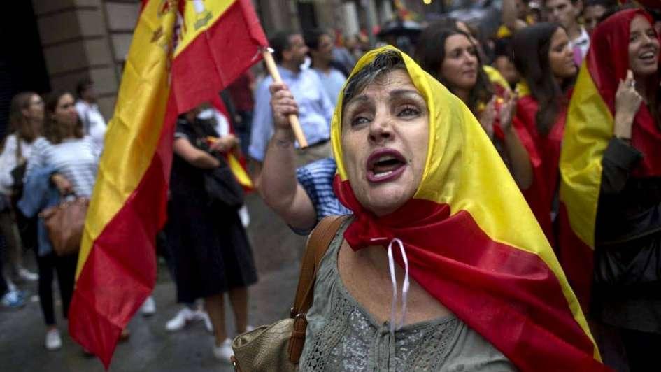 Ni españolistas ni secesionistas: tierra de nadie en Cataluña