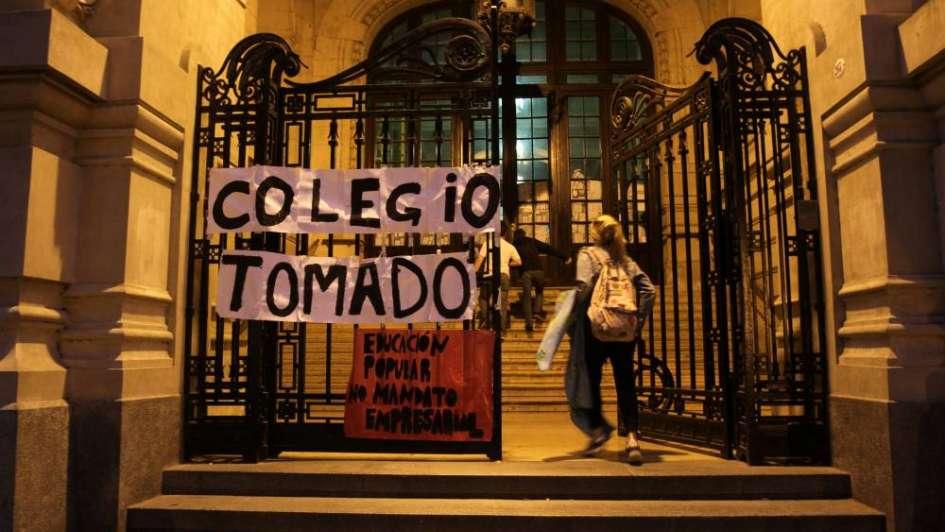 Una alumna denunció que abusaron de ella durante una toma del Colegio Nacional de Buenos Aires
