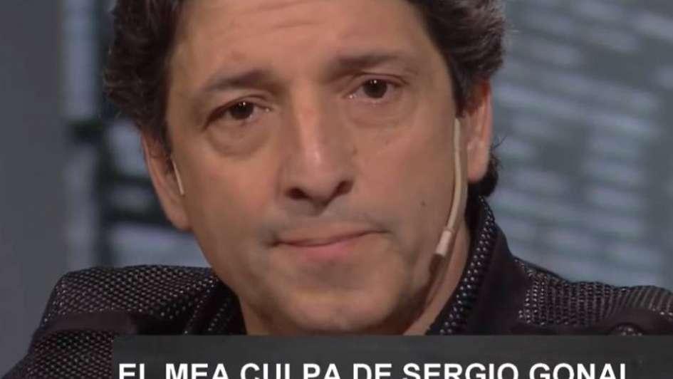 Sergio Gonal  y una dura confesión: