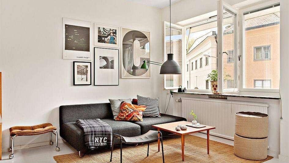 Espacios muy peque os pero bien decorados for Living pequenos espacios