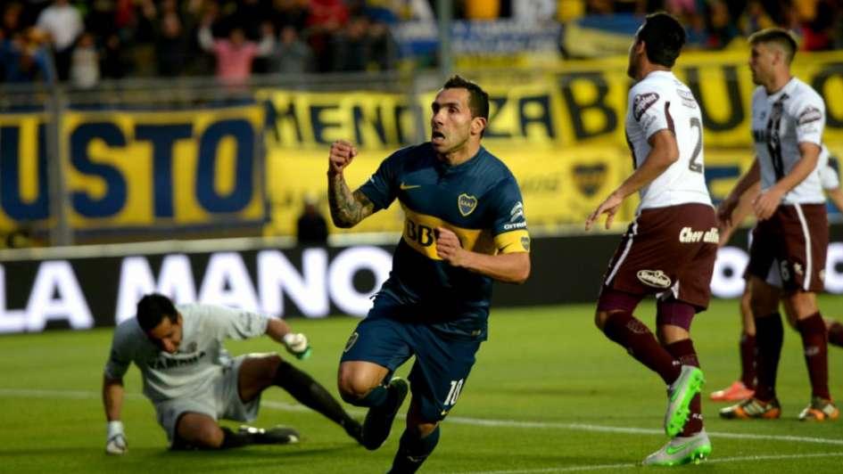 Con goles de Tevez y Lodeiro, Boca le ganó a Lanús y es finalista