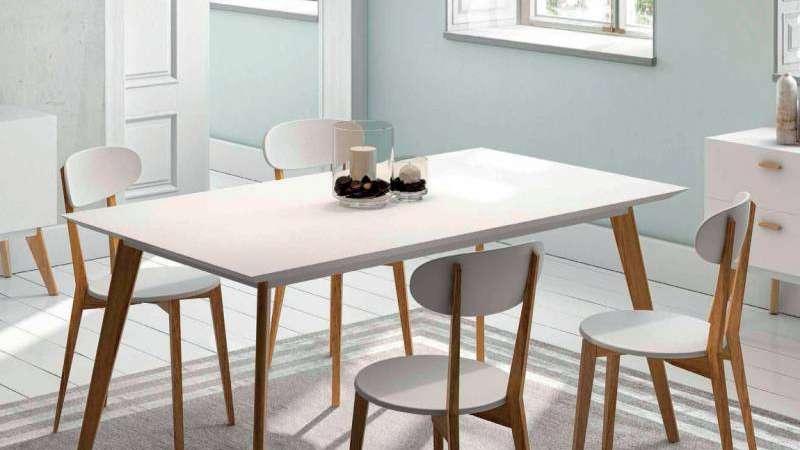 Para el comedor, ¿mesas redondas o rectangulares?