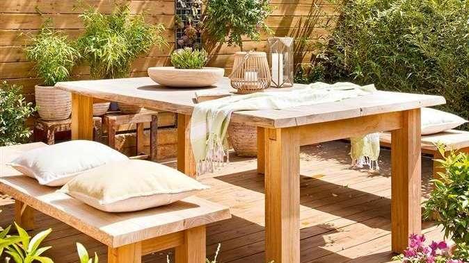 Cómo crear una terraza 100% natural