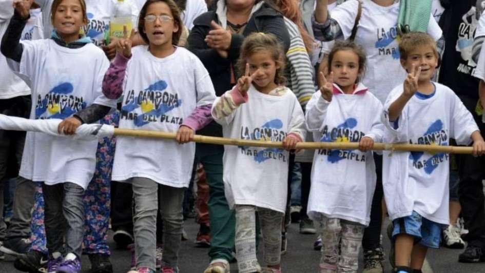 """Cristina celebró la participación de jóvenes y de """"camporitas"""" en la marcha por la Memoria"""