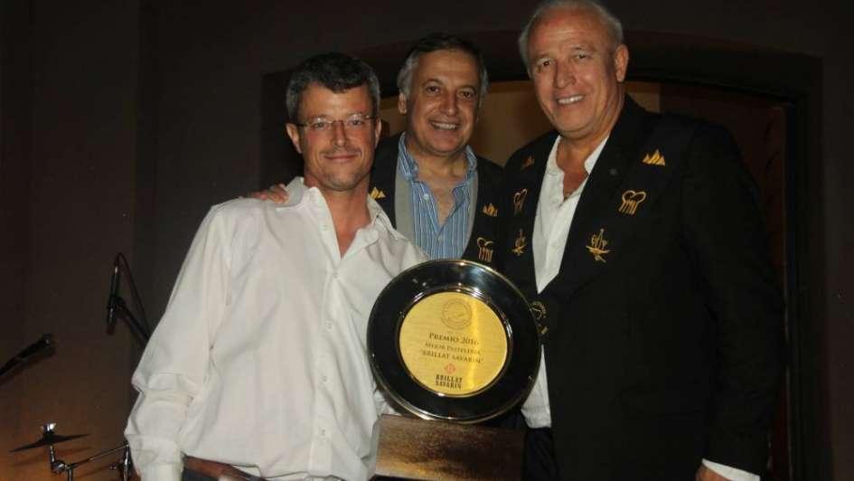 Hombres Gourmet en una gran noche de premiación