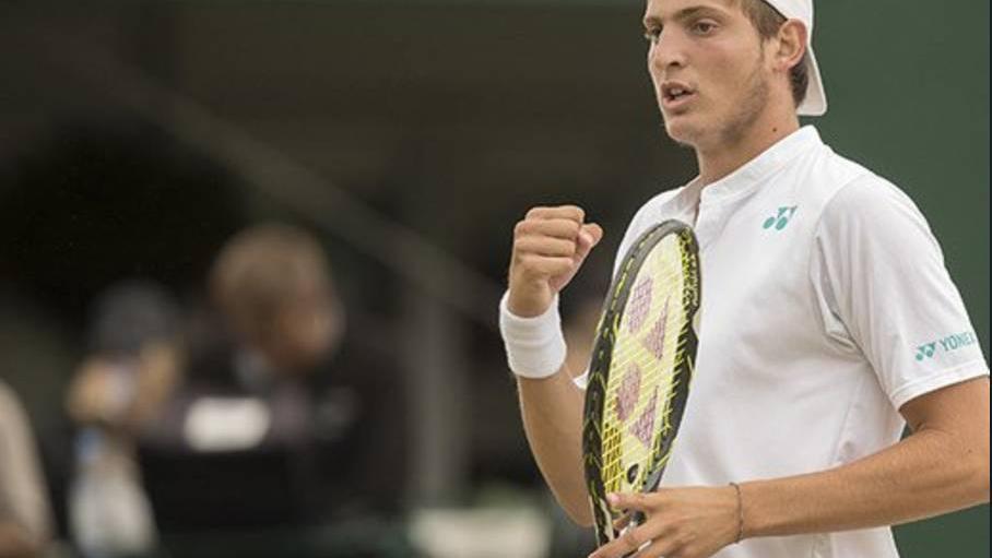 Wimbledon: el argentino Axel Geller clasificó a la final juvenil