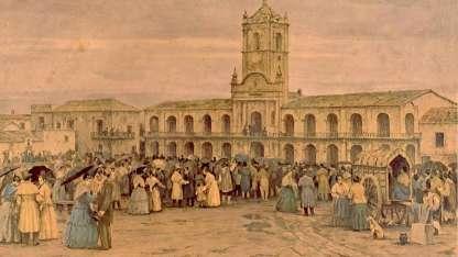 El pueblo quiere saber de qué se trata. Una de las frases atribuidas a las manifestaciones de 1810.