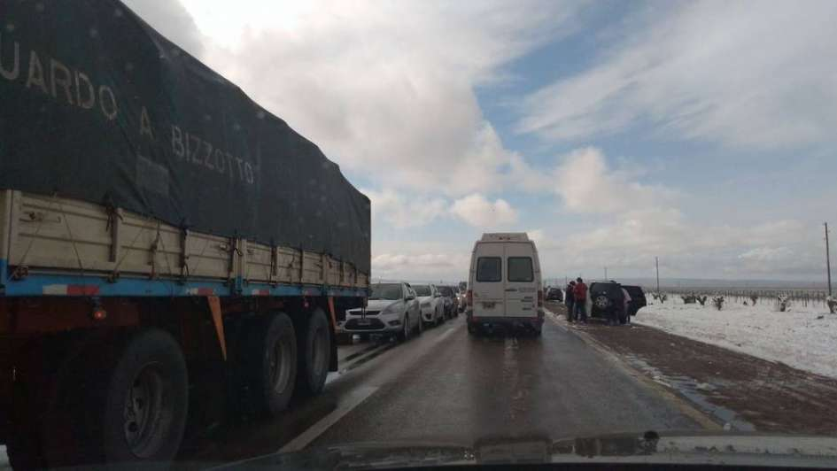 Habilitaron la ruta a Potrerillos, pero piden precaución