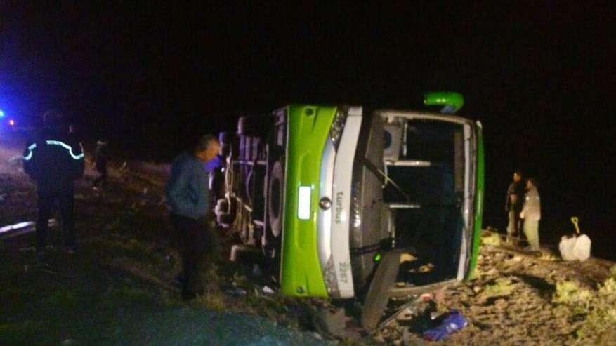 Tragedia en Horcones: un colectivo volcó y dejó al menos 19 muertos