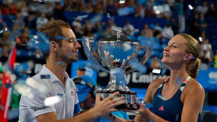 Gasquet y Mladenovic logran la segunda Copa Hopman para Francia