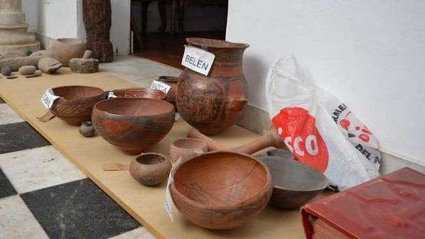 Secuestran piezas arqueológicas en Córdoba y encuentran un documento firmado por Sarmiento