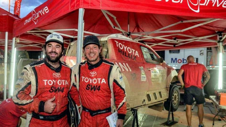 Yacopini y Merlo, felices con la Toyota