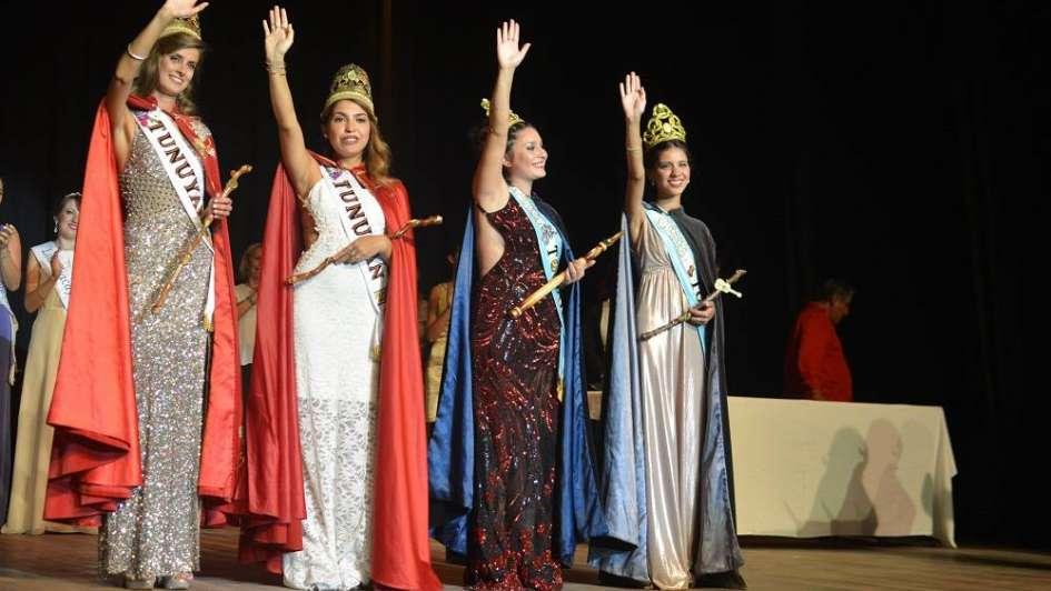Después de la tormenta, Tunuyán coronó a Josefina Hisa Serrano como su nueva reina