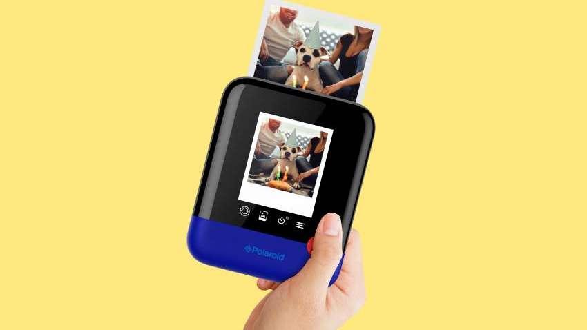 Polaroid lanzó una cámara digital que imprime fotos como sus máquinas clásicas