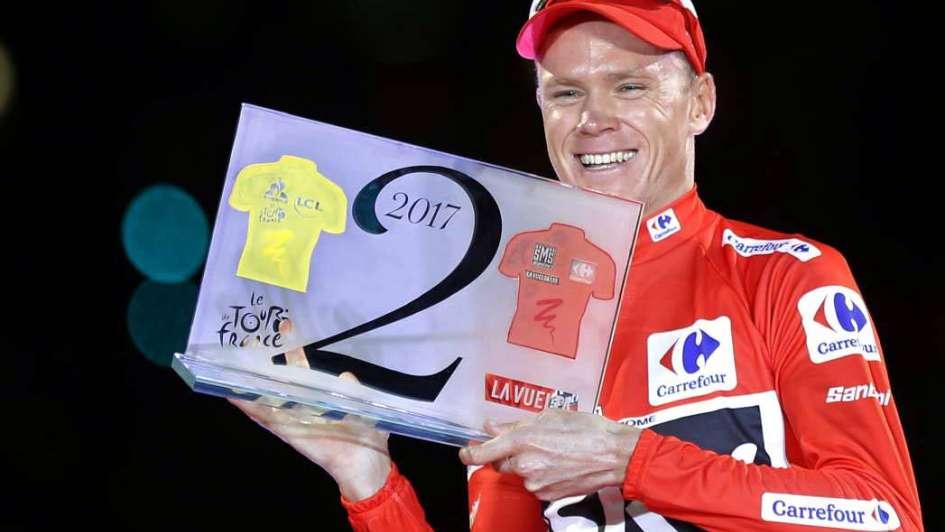 Vuelta de España: Chris Froome, el inglés perseverante