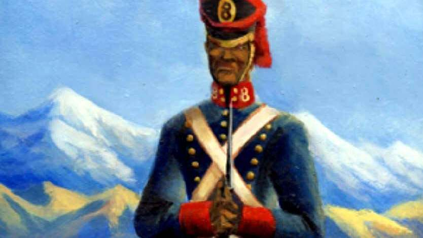 Esclavos convertidos en soldados de la Patria