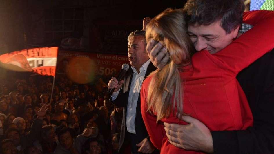 "Ganó Cornejo: ""Es una inmensa responsabilidad gobernar Mendoza"""