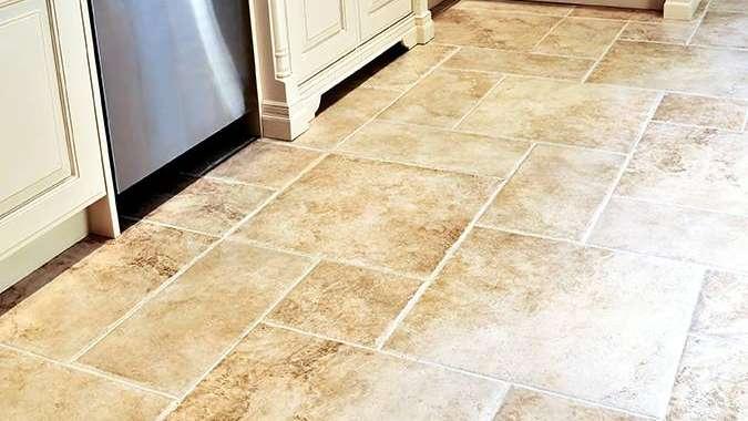 C mo elegir el piso apropiado para tu cocina for Piso de concreto cera cocina
