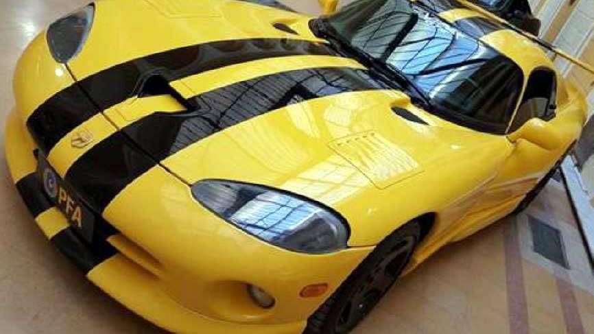 Sólo para mirar: coches secuestrados por la Policía Federal
