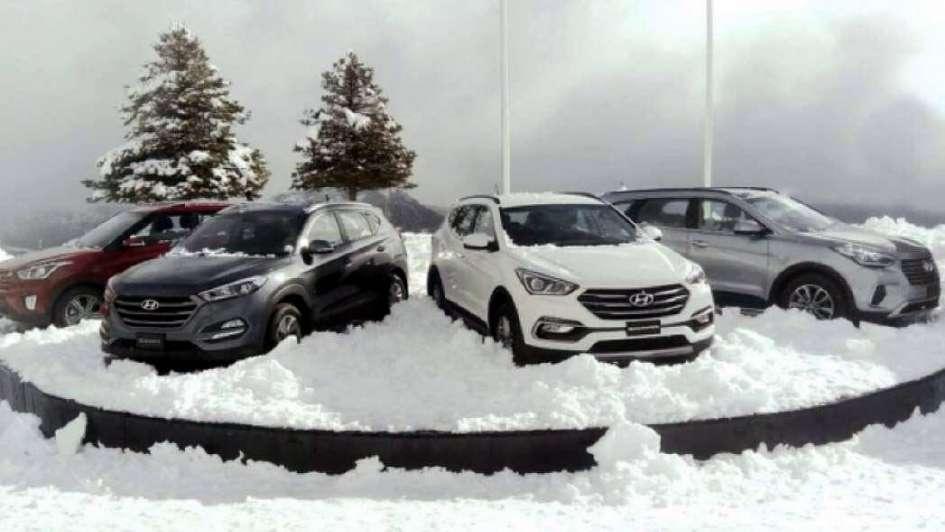 """Los autos que """"pisarán"""" la nieve en la temporada 2017"""
