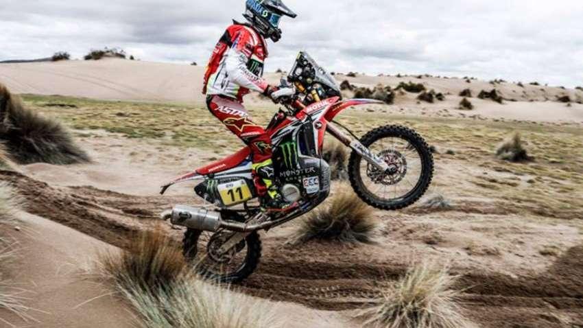 Motos: Joan Barrera Bort llegó a la primera mitad de la especial con el mejor crono
