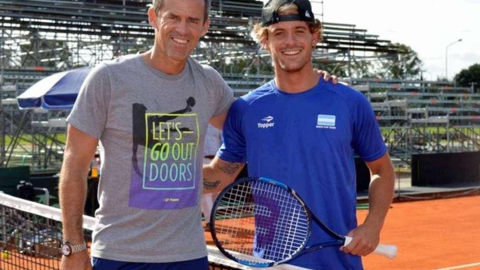 """Copa Davis: Orsanic """"devolvió"""" gentilezas"""