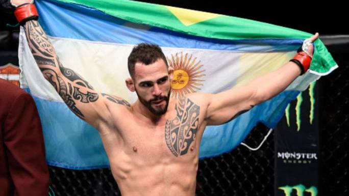 UFC: reviví el espectacular nocaut del argentino Ponzinibbio