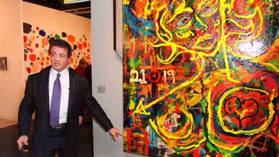 Los famosos de Hollywood que, como Jim Carrey, son artistas plásticos