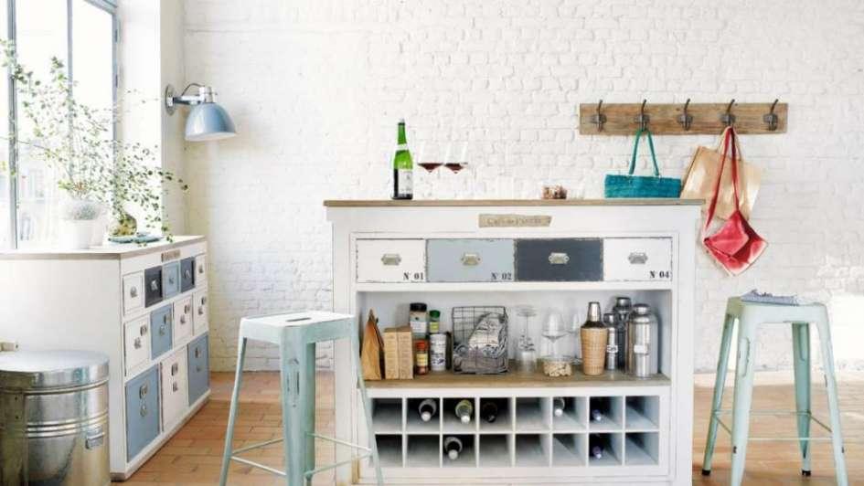 Ideas deco para tener un mueble bar en tu casa for Bar en madera para casa