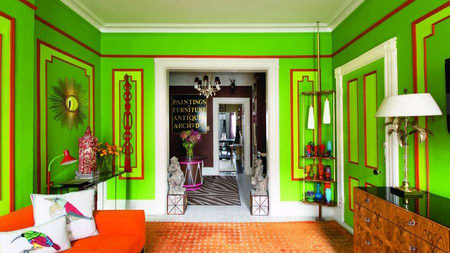 Pintar y decorar tu casa en rojo y verde for Decoracion de interiores color rojo