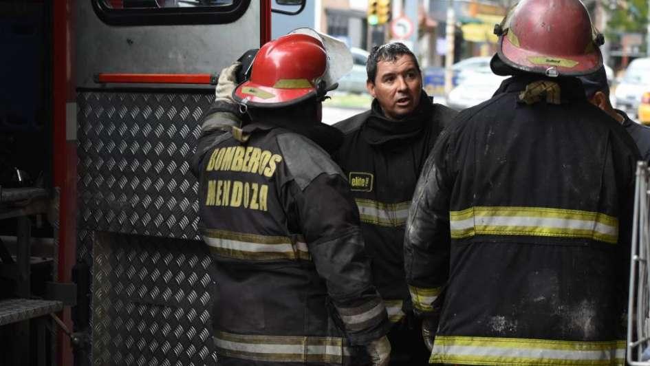 Un anciano falleció en un incendio en Guaymallén
