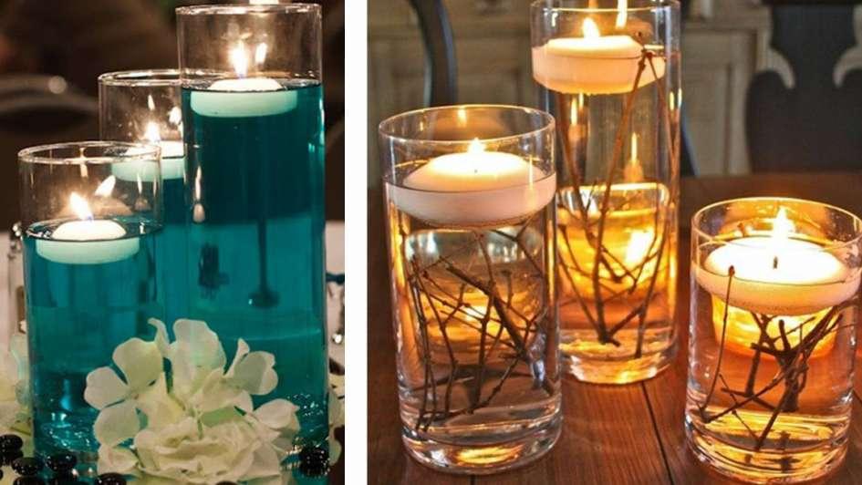 C mo decorar con jarrones de cristal for Decoracion hogar jarrones