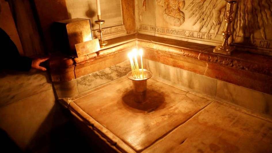 Así quedó la Iglesia del Santo Sepulcro, donde está la tumba de Jesús