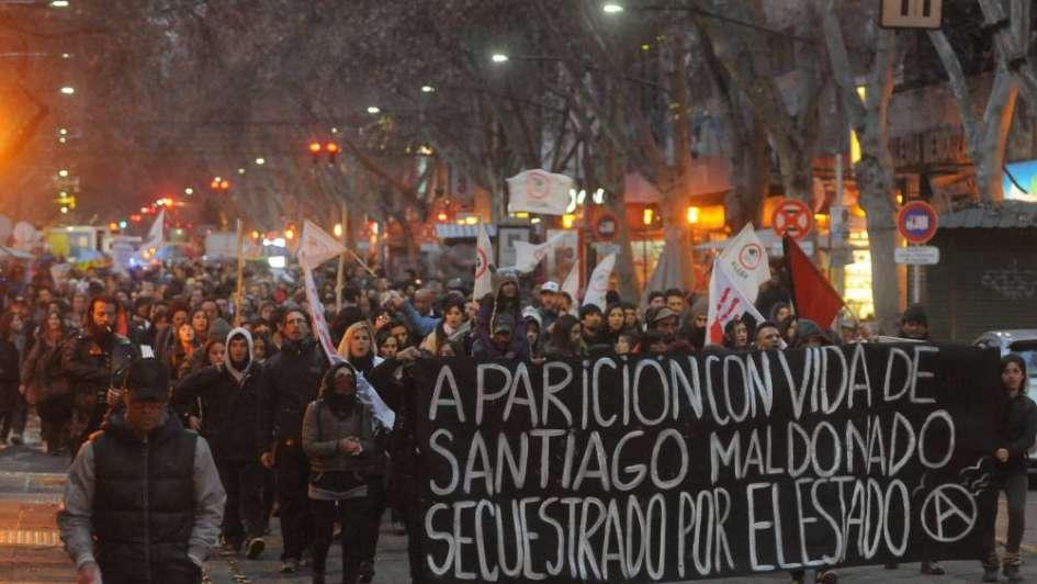 Marchas en el país para pedir por Santiago Maldonado