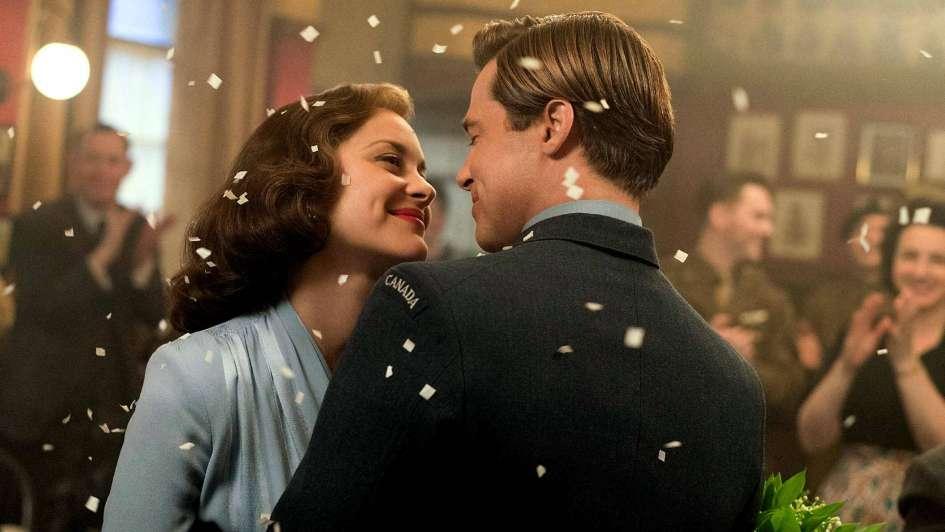 """""""Aliados"""": el día que Brad Pitt se enamoró de Marion Cotillard"""