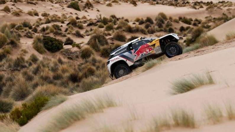 Dakar 2017: Loeb hizo el mejor tiempo en autos, en la primera parte de la especial de la etapa 8