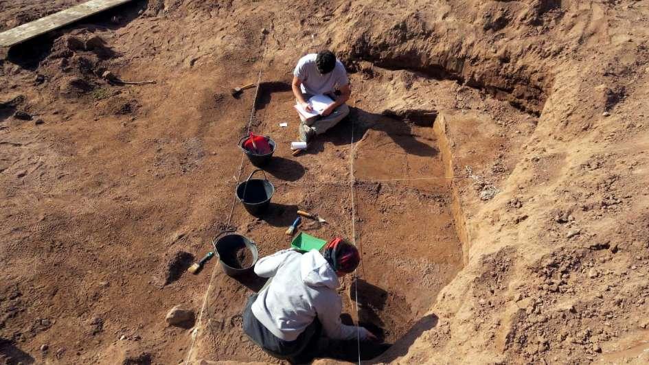 El enterratorio hallado en Godoy Cruz tendría más de 1.000 años