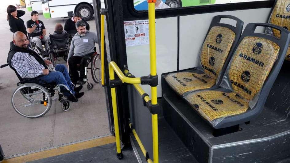 Inadi Mendoza: sólo 25% de los micros son accesibles para personas con discapacidad